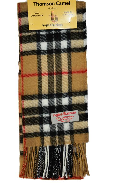 Écossais 100/% laine d/'agneau tartan de clan écharpe MacNaughton BRAND NEW